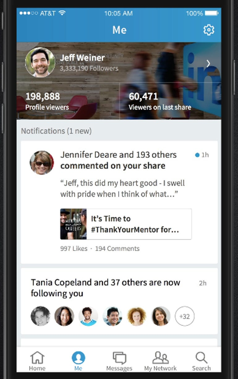 zdnet-linkedin-mobile-app-update-personal-brand-2.png