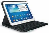 Logitech keyboard case Samsung
