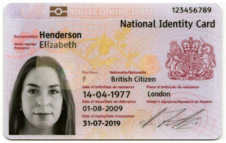 ID cards: Identity assurance scheme