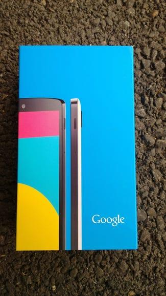 Nexus 5 retail package