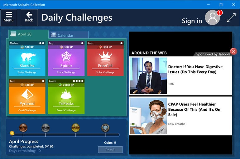 Solitaire and Xbox: strictly for gamers