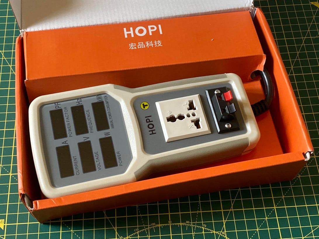 HOPI HP-9800 20A energy monitor