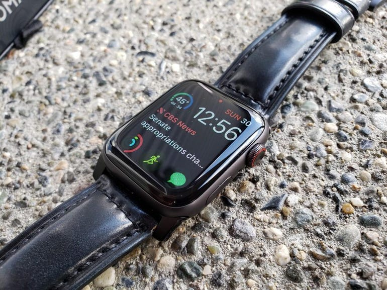 Apple Watch Series 4 and Shell Cordovan strap