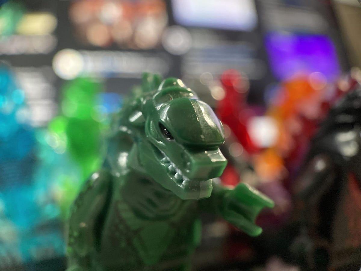 Godzilla minifiguren