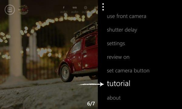 Camera Pro tutorial