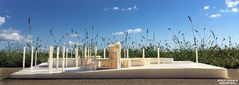 Architectural Model by Garrett Faulkner