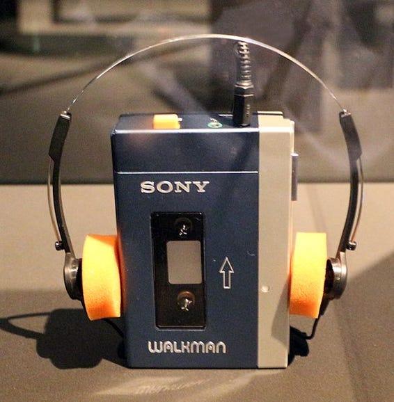 1979: Sony Walkman