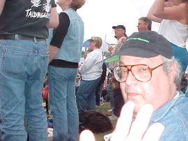 Russell in Portland, 2000