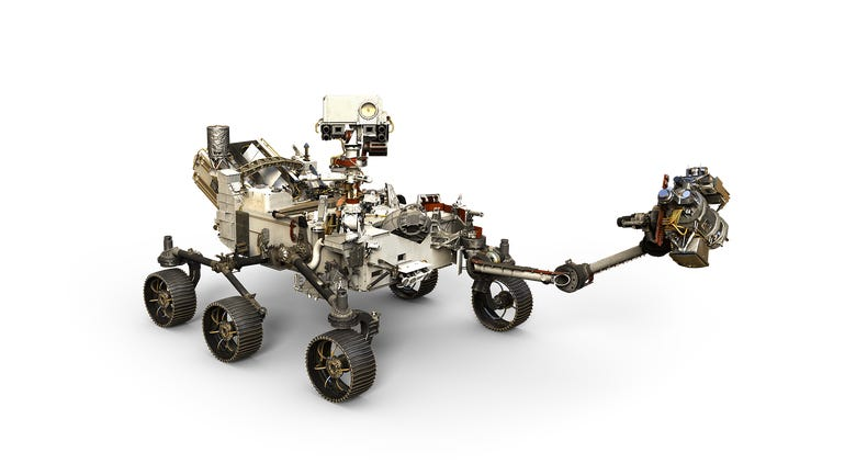 Mars Rover with Harmonic Drive technology