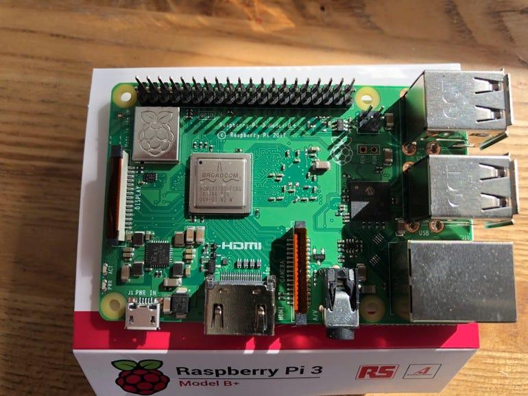 Tech specs: Raspberry Pi 3 Model B+