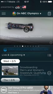 Follow the 2014 Winter Games action from Sochi on your mobile devices