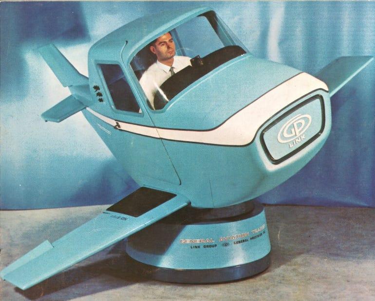 GAT-1 flight simulator from 1967.