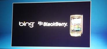 Microsoft Bing + BlackBerry = BingBerry? Photo by Ronen Halevy.