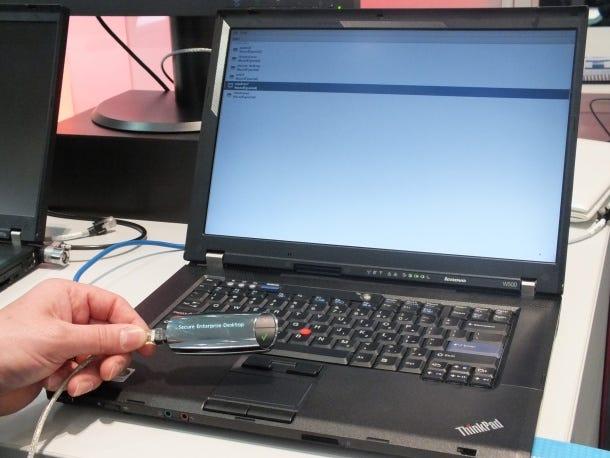 IBM Secure Enterprise Desktop