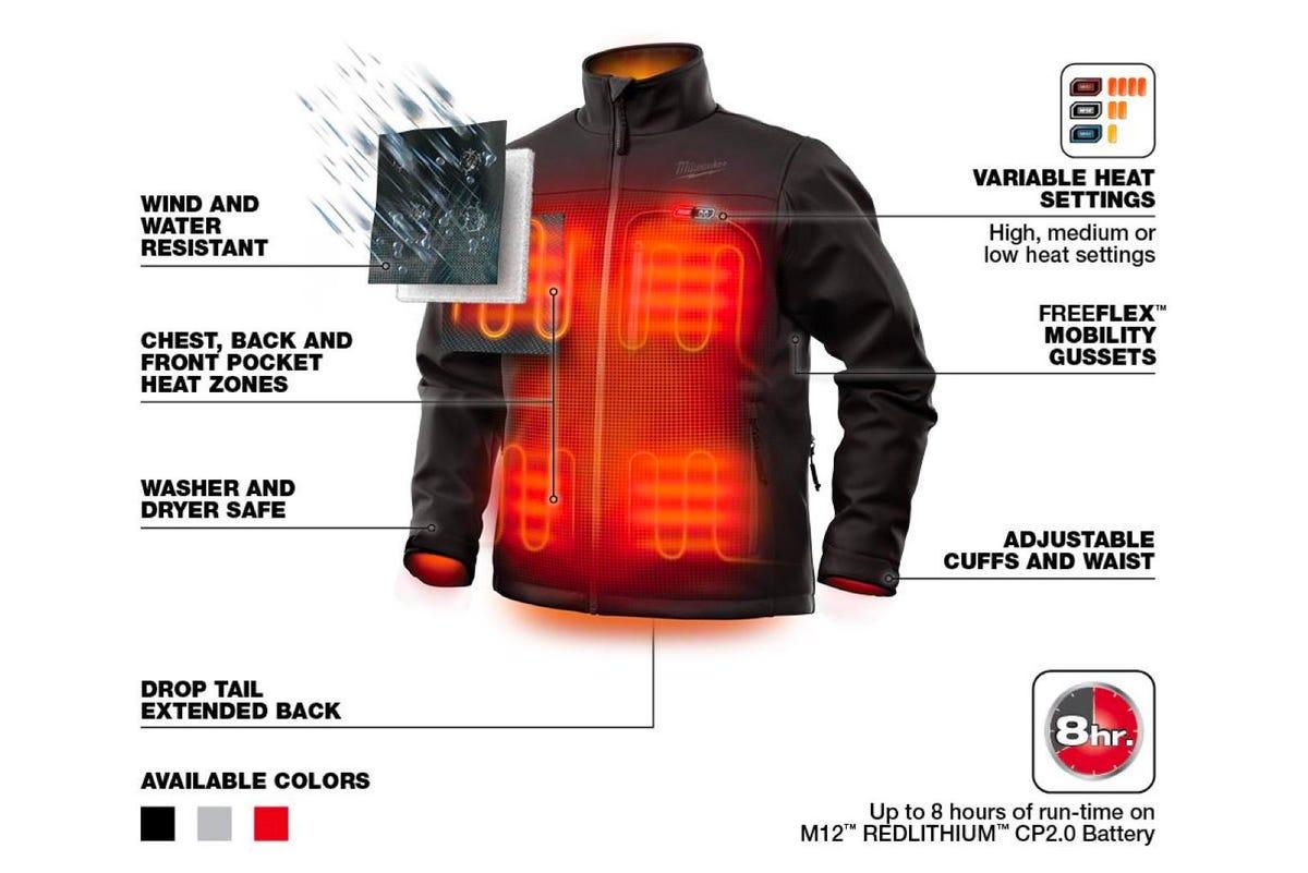 Milwaukee Tools M12 Heated TOUGHSHELL Jacket