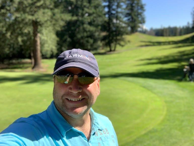 Beautiful day to golf with Garmin