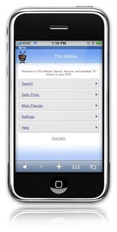 TiVo coming to iPhone