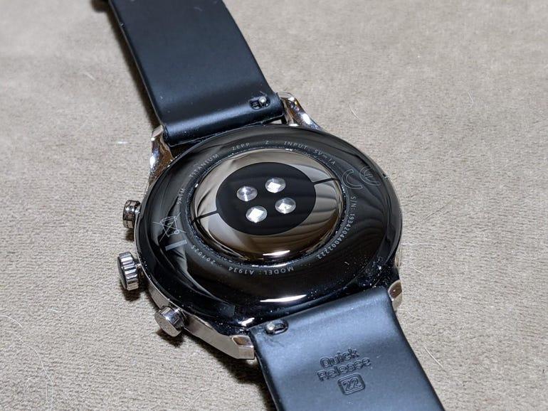 Back of the Zepp Z smartwatch