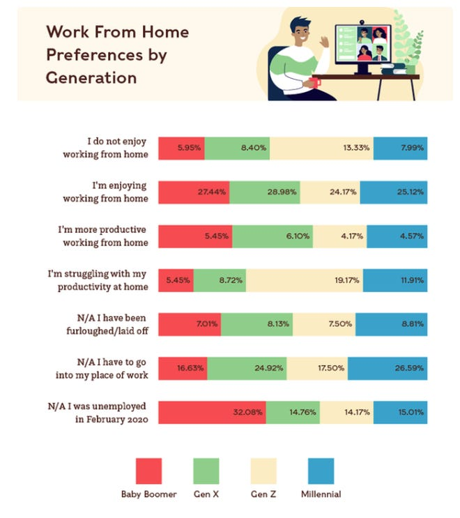 American Gen Z has the most trouble working from home during the new normal zdnet
