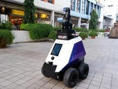 Singapore sends Xavier the robot to help police keep streets safe under three-week trial