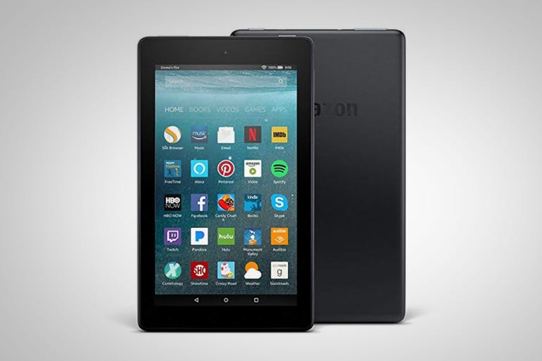 Fire 7 Tablet with Alexa (around $50)