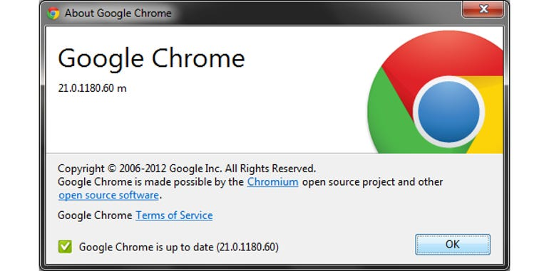 Google Chrome 21 is out