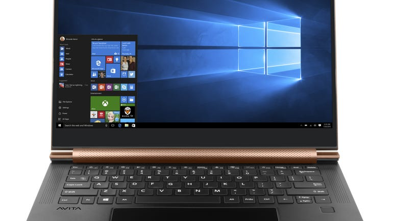 Avita Admiror PC review a sleek looking notebook with a large screen and a great touchpad zdnet