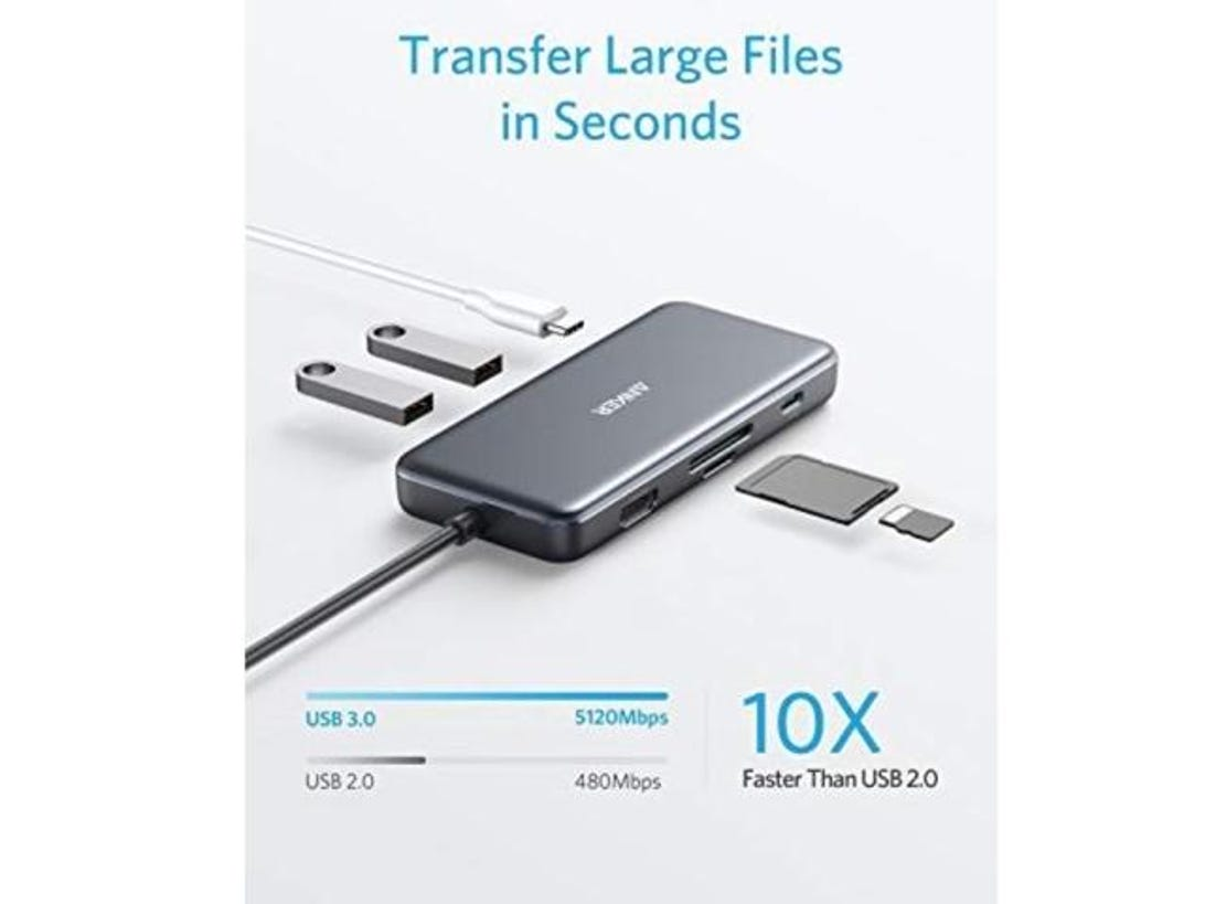 Anker 7-in-1 USB-C hub