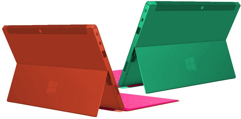 Red and Green Surfaces
