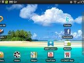 Samsung Galaxy Tab screenshots