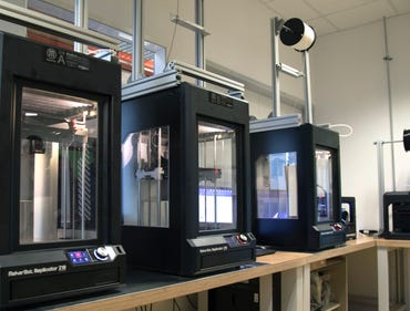 Kuka's 3D printers