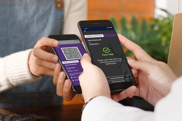 New York begins testing Covid-19 digital health pass