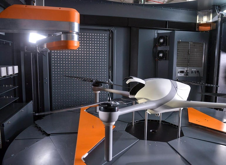 Optimus, the Airobotics Inspection Drone
