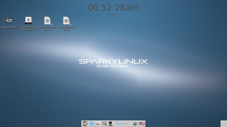 SparkyEnlightenmentLive