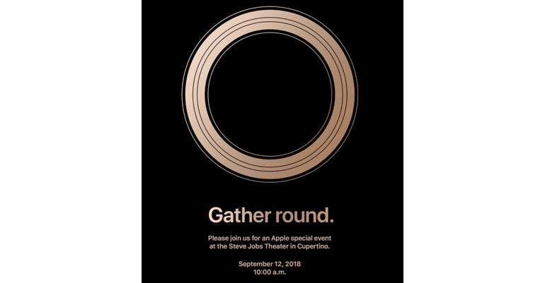 iPhone launch, September 12