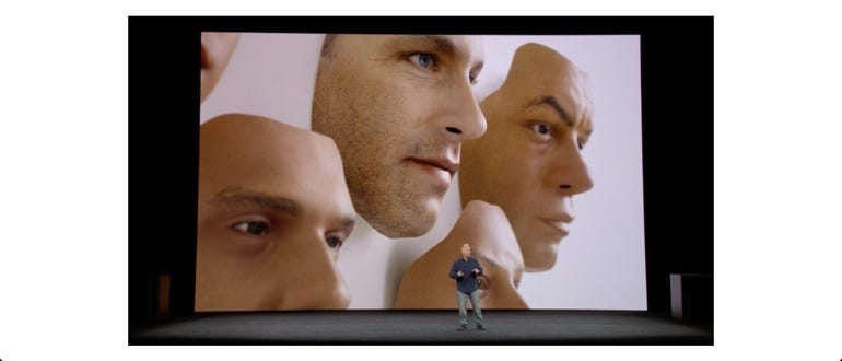 Apple has tested Face ID against lifelike dummy faces