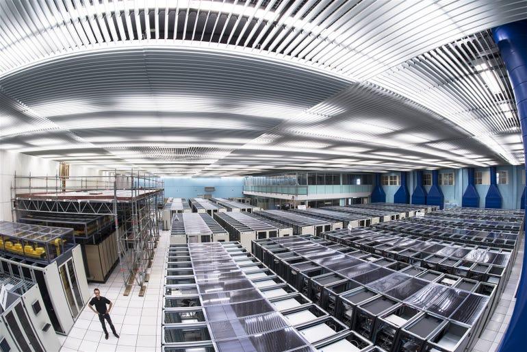 The CERN computer centre.