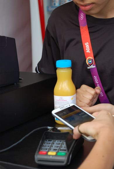 Market for contactless payments