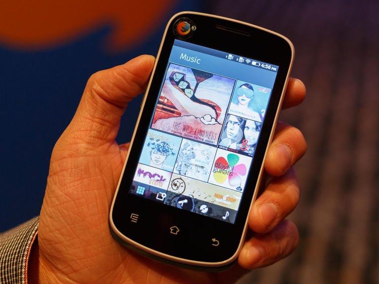 A prototype of Mozilla's $25 handset
