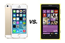 Apple iPhone 5S vs. Nokia Lumia 1020: How they compare