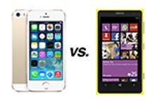Apple iPhone 5S vs. Nokia Lumia 1020: How they compare