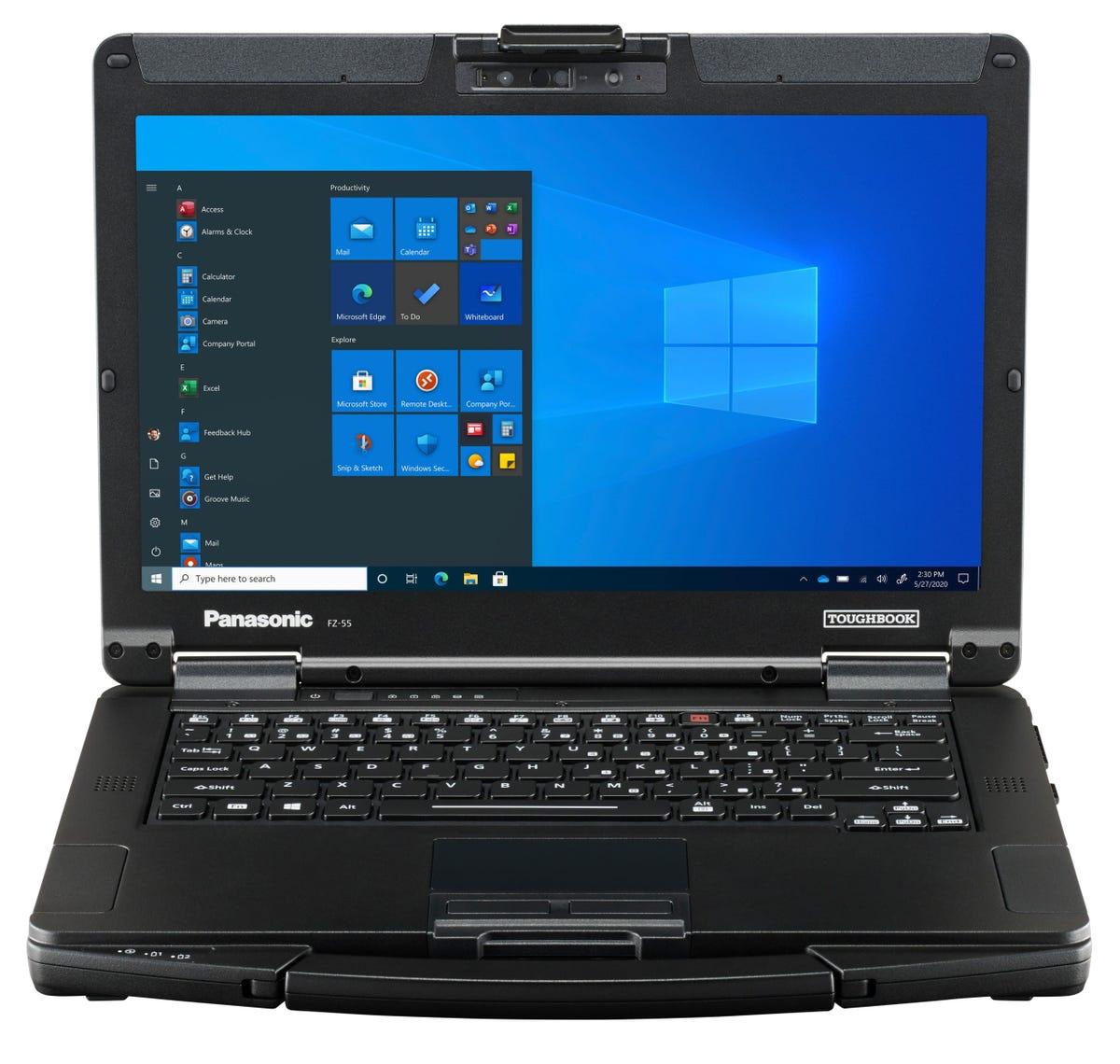 Panasonic rafraîchit le portable semi-robuste Toughbook55