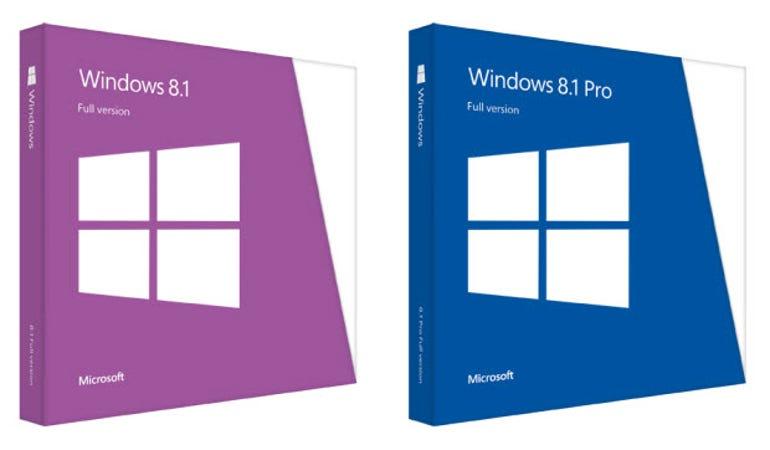windows 8.1 boxes