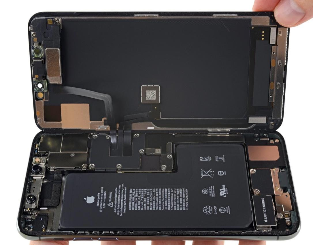 Inside the iPhone 11 Pro Max