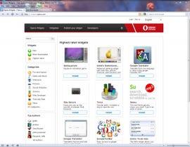 Opera's app. store sadly lacks engaging programs