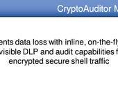 SSH has something new for you: CryptoAuditor