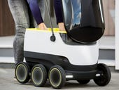 Move over drones: Here come Skype co-founders' self-driving delivery robots