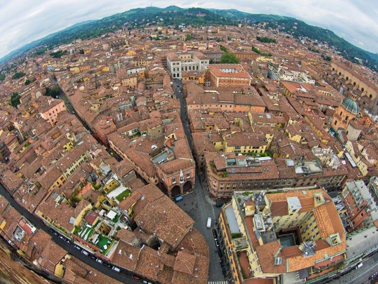 Bologna, the capital of Emilia-Romagna
