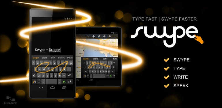 Swype for Android makes first appearance in the Play Store