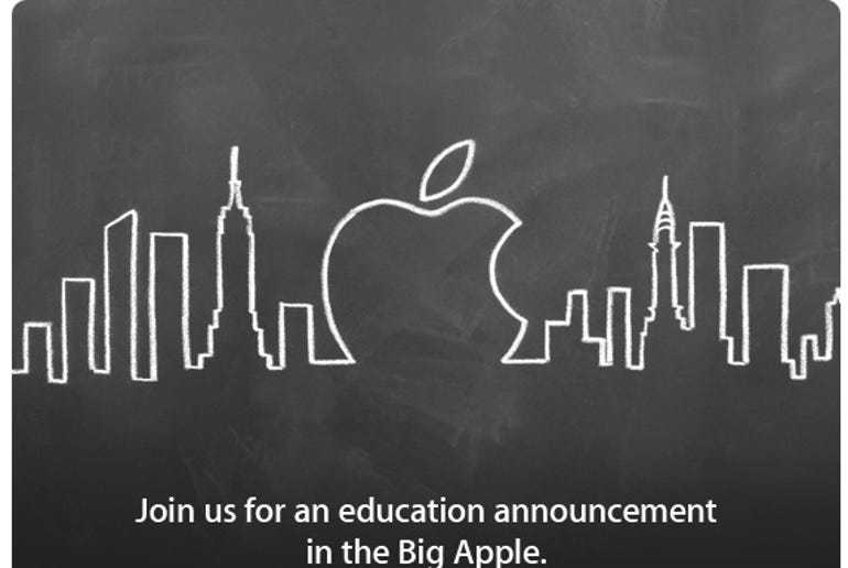 Join us for an education announcement in the Big Apple. Jason O'Grady